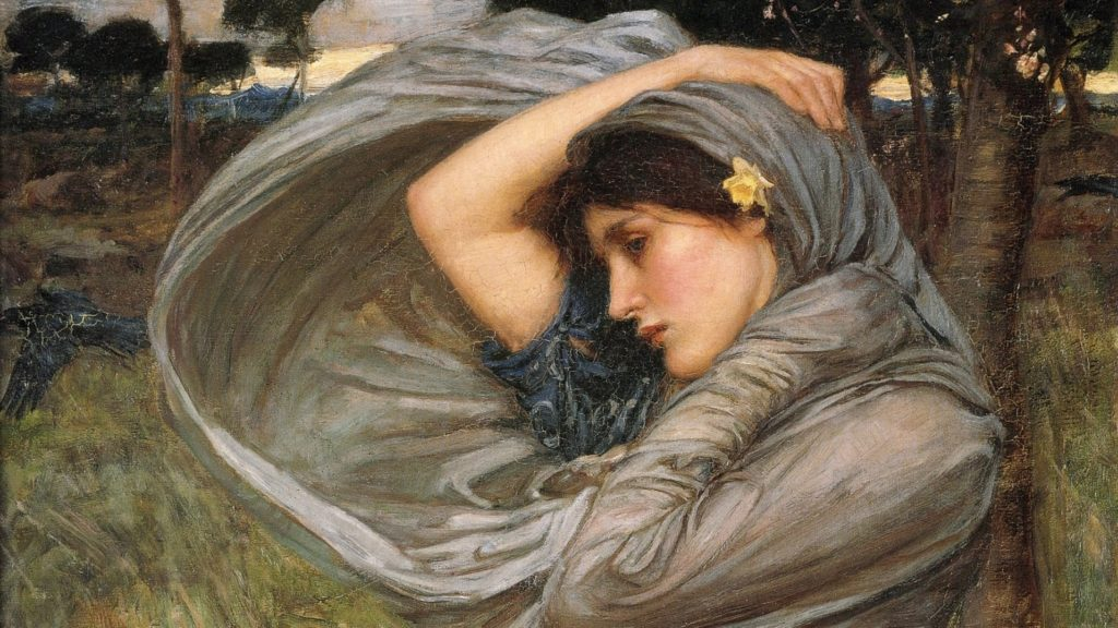 Boreas, John William Waterhouse, 1903