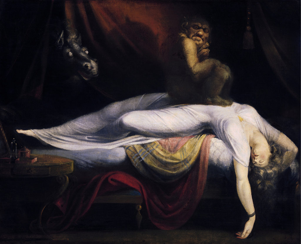John Henry Fuseli, The Nightmare, 1781