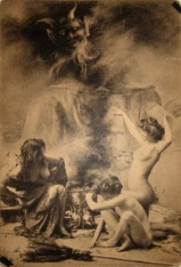 Postcard of Paris WItches